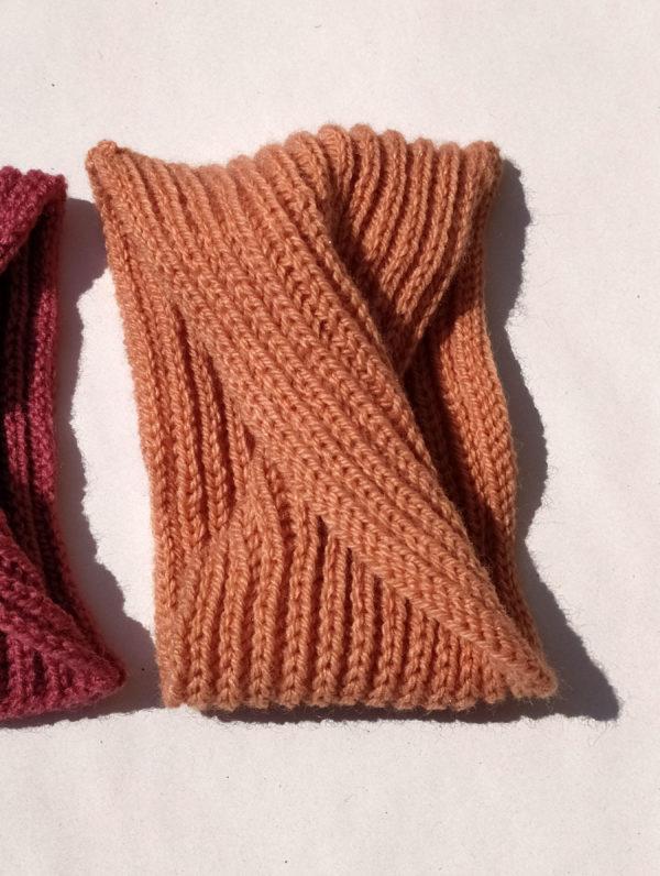Tour de tête élastique pour enfant en bas âge. Achat en ligne sur mon site charlotte-tricote.fr
