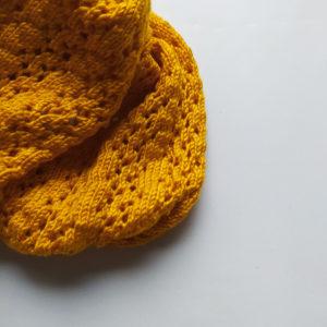 laine jaune brillant