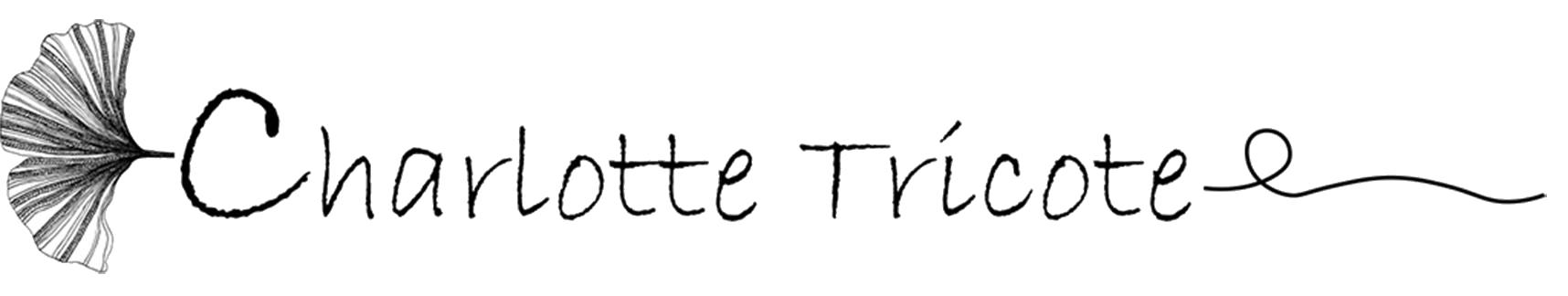 logo charlotte Tricote site test