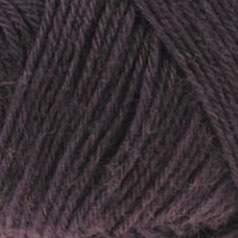 aubergine mélange laine