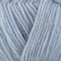 bleu ciel mélange laine