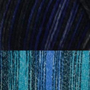 bleu laine nylon