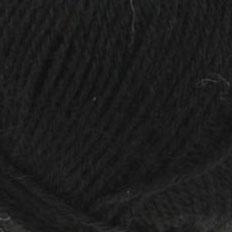 noir mélange laine