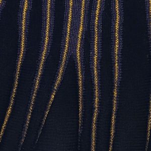 châle noir violet jaune (petit)