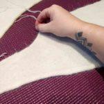 blocage du tricot